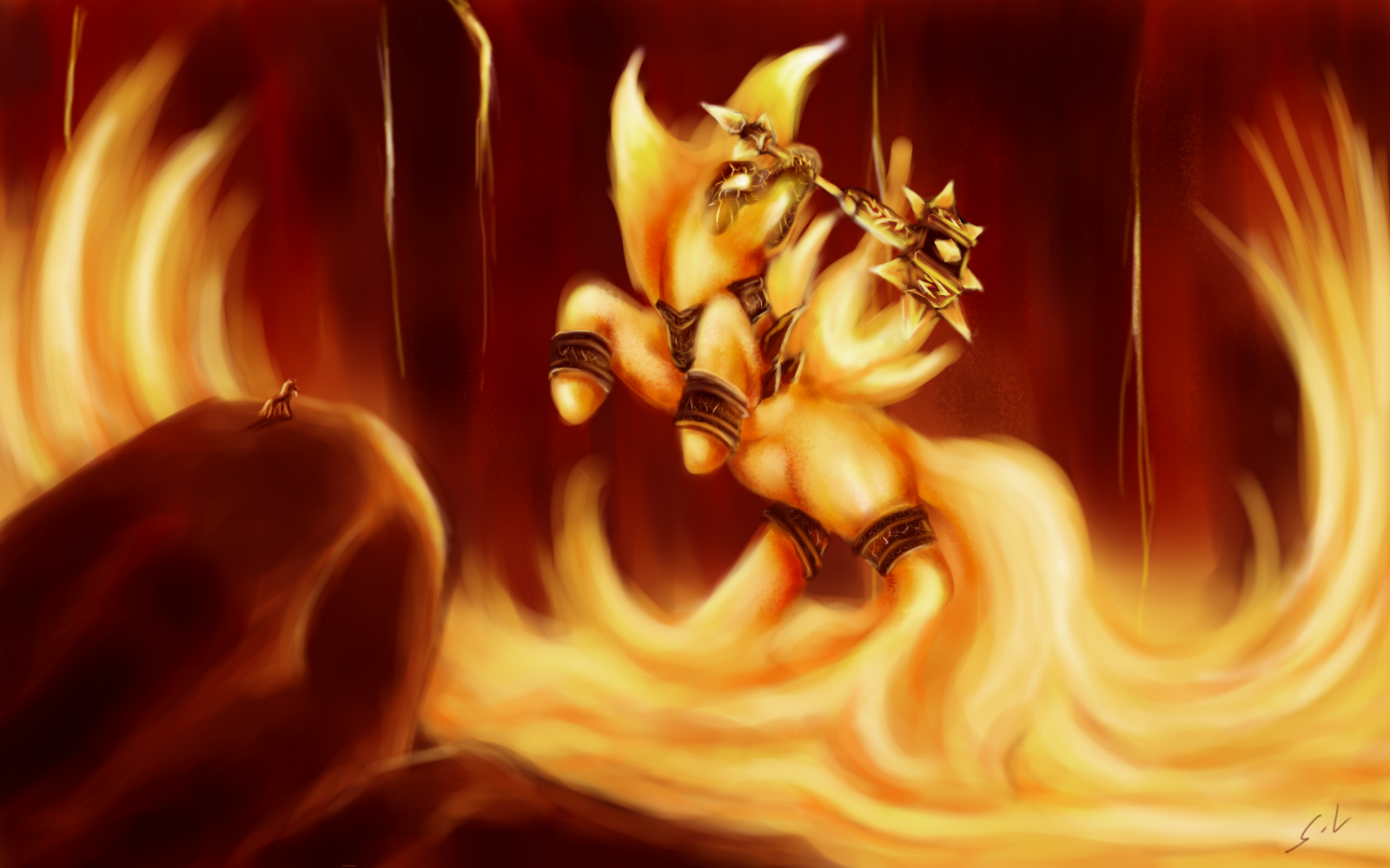 Pony Lich King by PartyCannon on DeviantArt