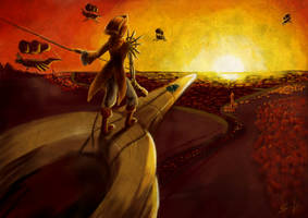 Sky Pirates by Mugi-Hamster