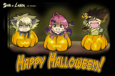 SOL Happy Halloween by Letucse