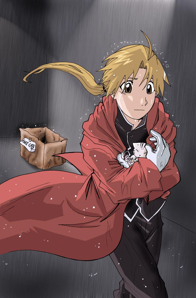FMA last kittie by Letucse