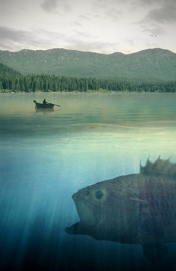 Big fish by EsbenBonde
