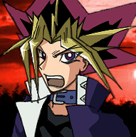 Yami no Yugi shouts out by thiro