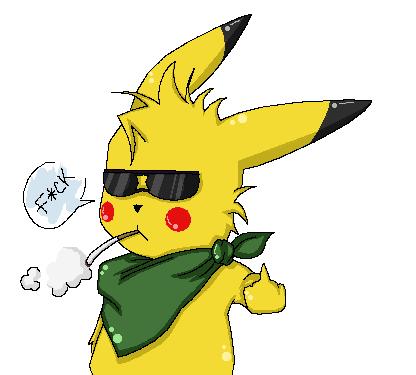 gangster pikachu - photo #28