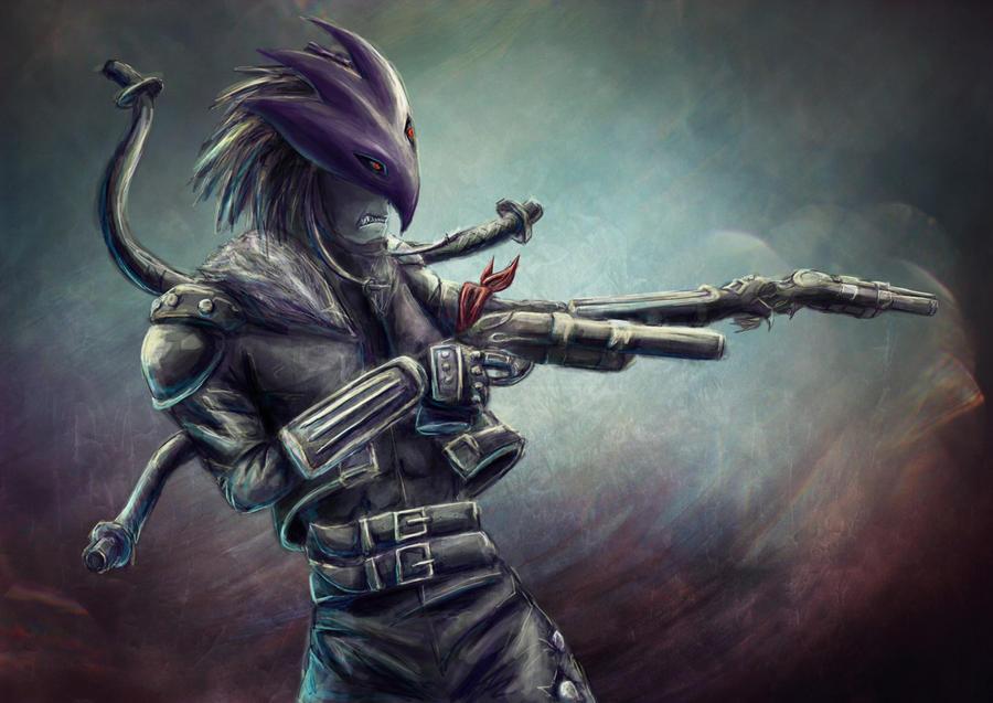 Demon Gunner by Beezlemona
