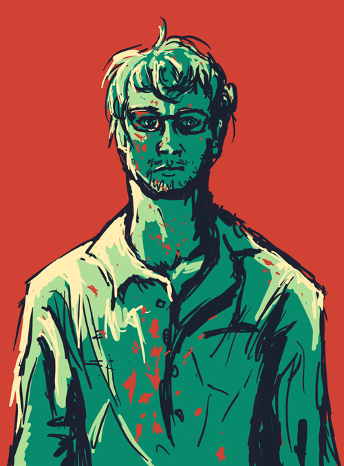 Colour Challenge: Will Graham by Beezlemona