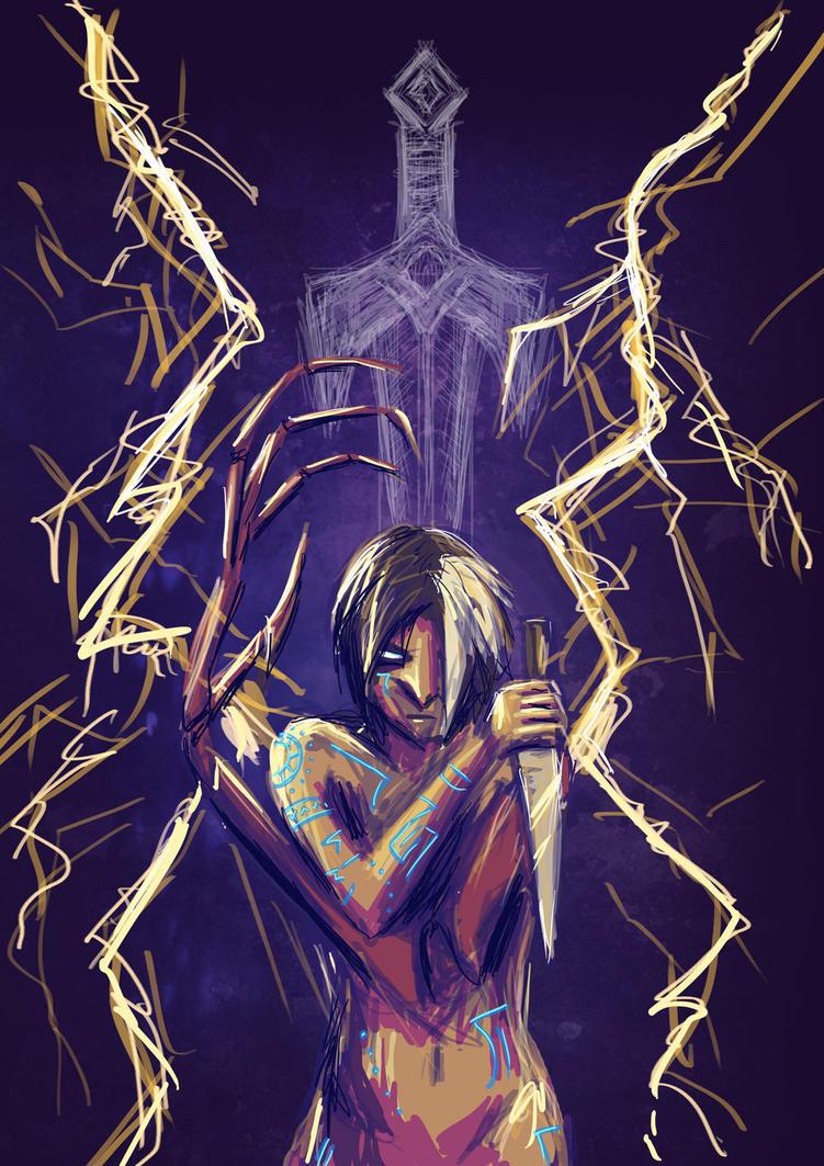 Queen of Swords by Beezlemona
