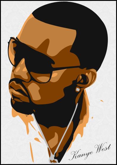 Kanye West by hansinderen