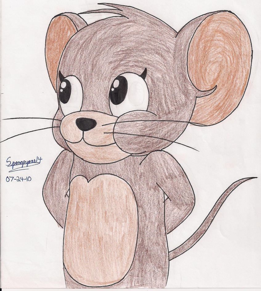 Jerry the Colored Mouse by
