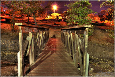 Midnight Bridge HDR by khorask