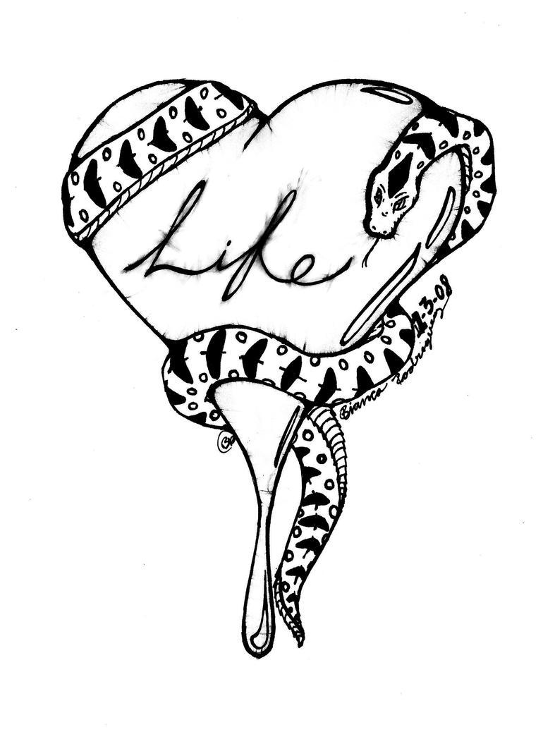 easy snake drawing easy snake