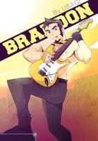 Brandon Rockstar1 by heavenhellexe