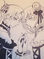 Maru and Moro by SakuraRaye