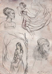 Sketches II by Krista-Dunaway