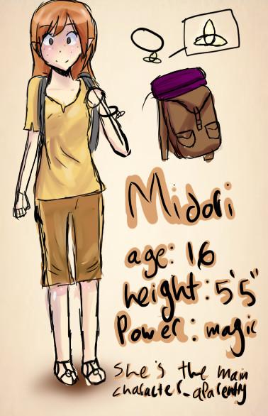 Midori's profile..not official by MissMidoriChan