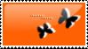 Orange Butterflies by AvengingSeraphim