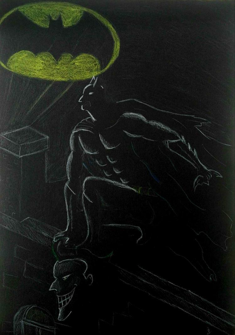 Batman by Murphyana