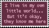 Little world... :: Stamp by Saphitri
