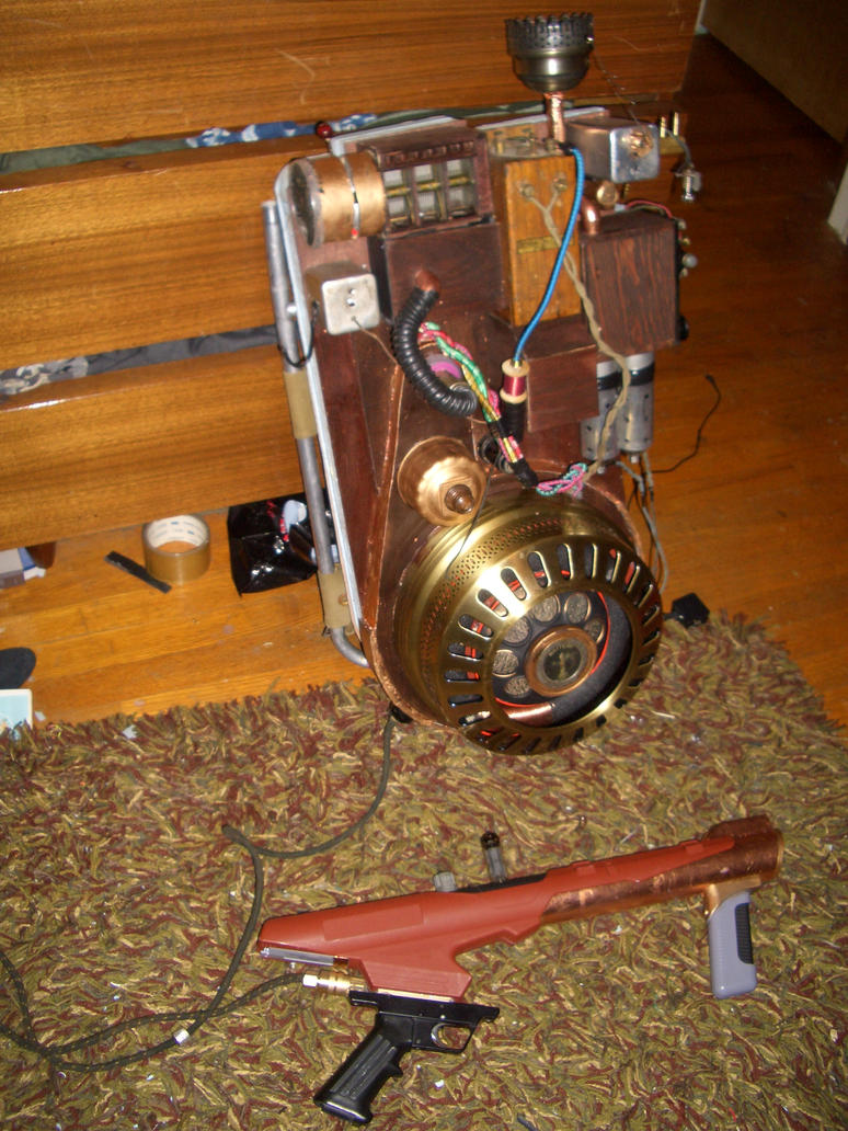 Proton Pack Steampunk by Matareno