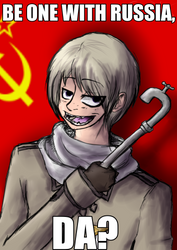 Hetalia- be one with Russia by Cry-inK