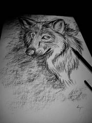 Wolf- trying to by Cry-inK