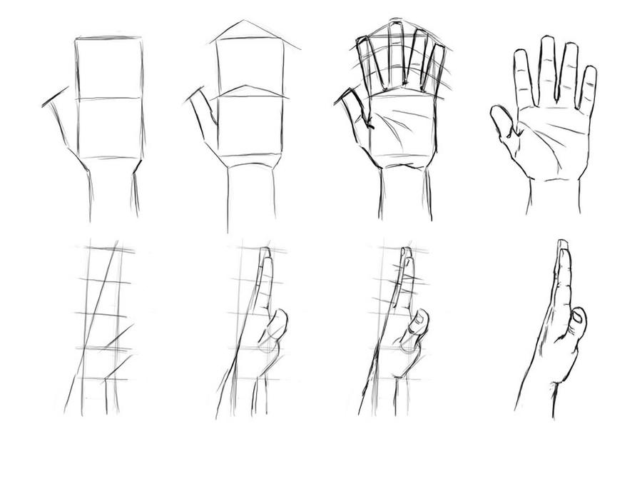 Hand Tutorial by MasterSS on DeviantArt
