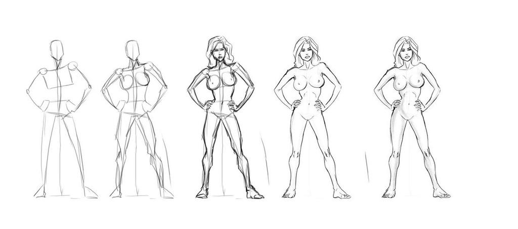 Female Body by MasterSS