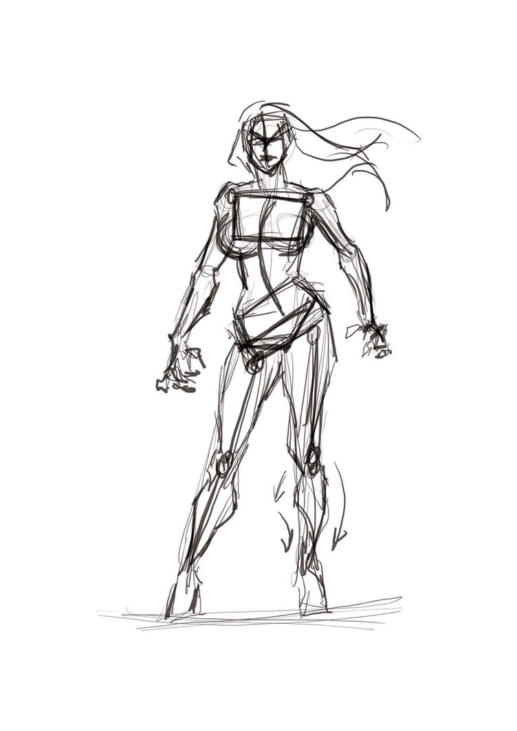 Displaying 20> Images For - Female Sketch...