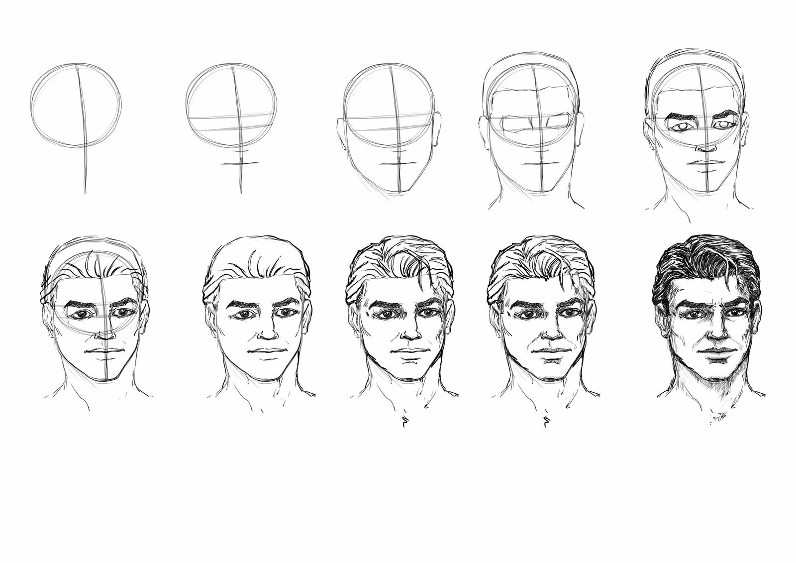 Drawing Head Tutorial by MasterSS on DeviantArt