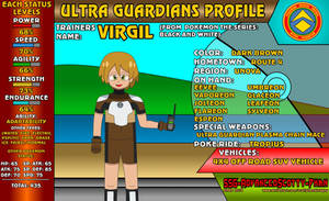 Ultra Guardians Profile - Virgil