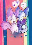 Candy and Cookie + Pachirisu +