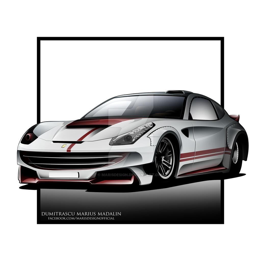 Ferrari FF Dragster! By MarisDesign On DeviantArt