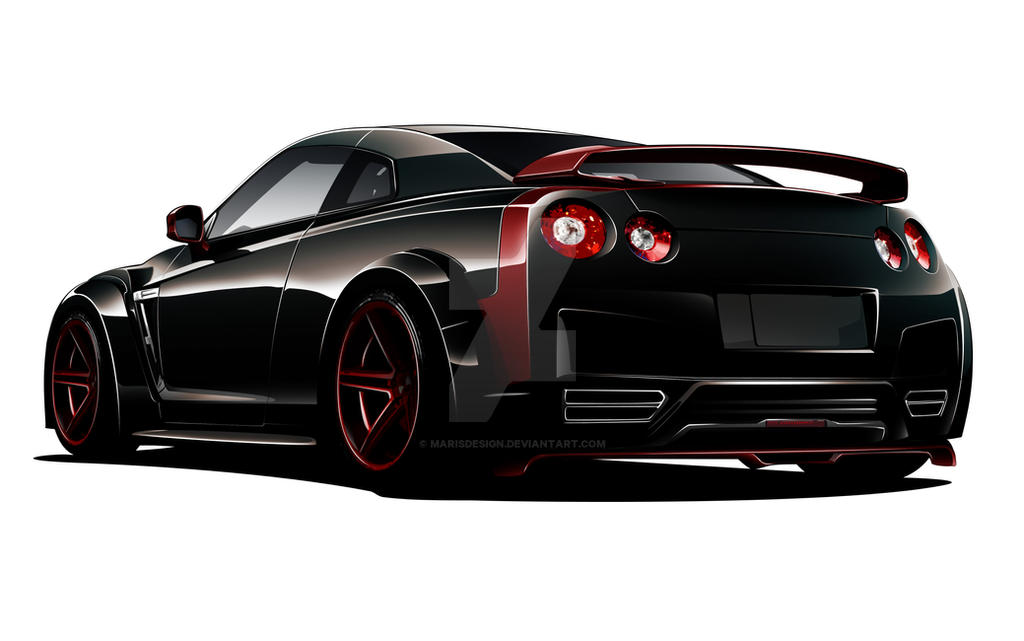GTR Black Devil! by MarisDesign