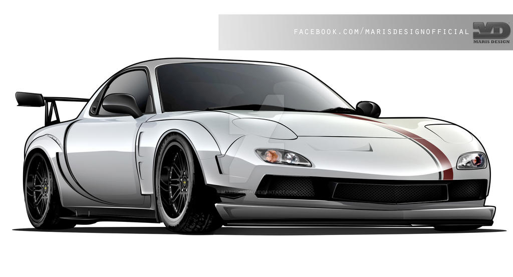 RX7 Time Attack Tuning by MarisDesign