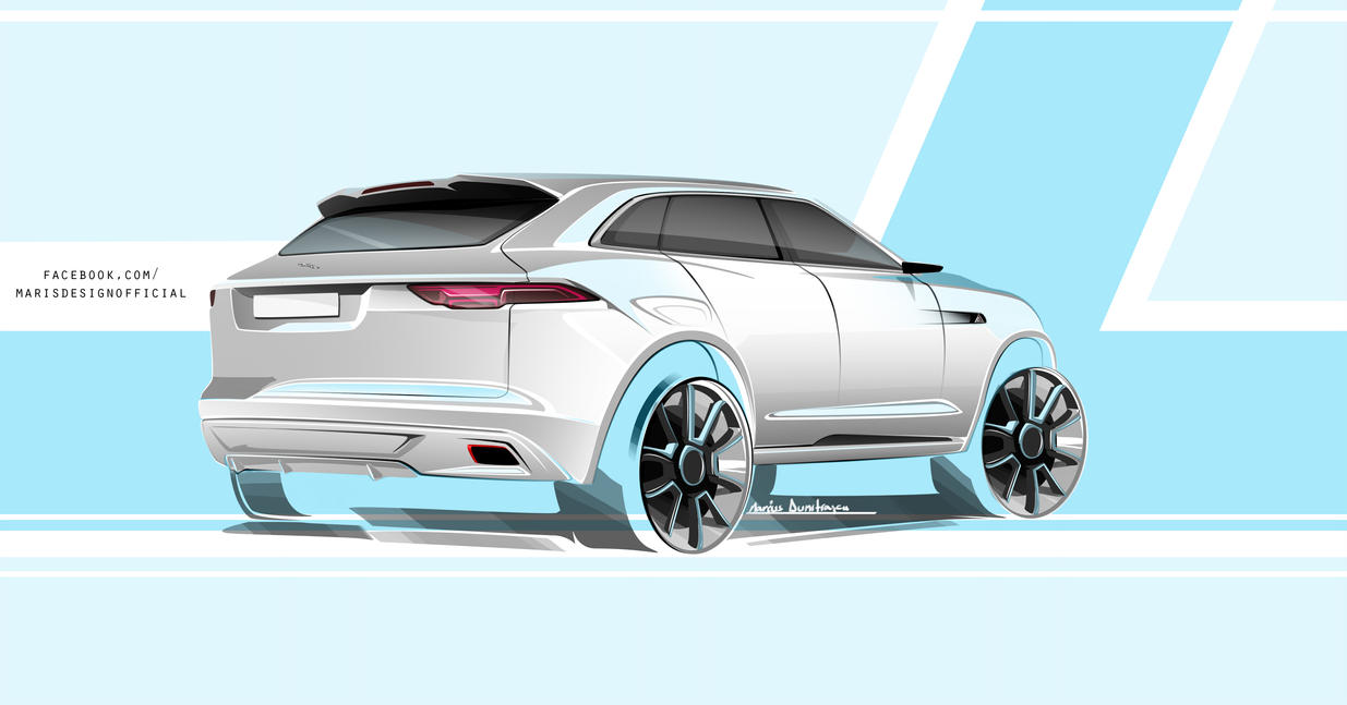 Jaguar SUV by MarisDesign