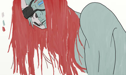 Skullface [Flat Colour] by TikToxic