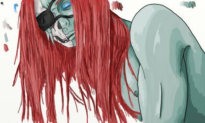 Skullface [Flat Tonal] by TikToxic