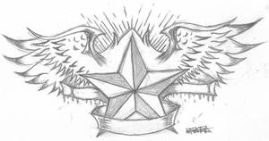 .:Star Tattoo:. by bloodyxgun