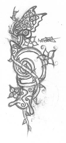 .:Snail tattoo:. by bloodyxgun