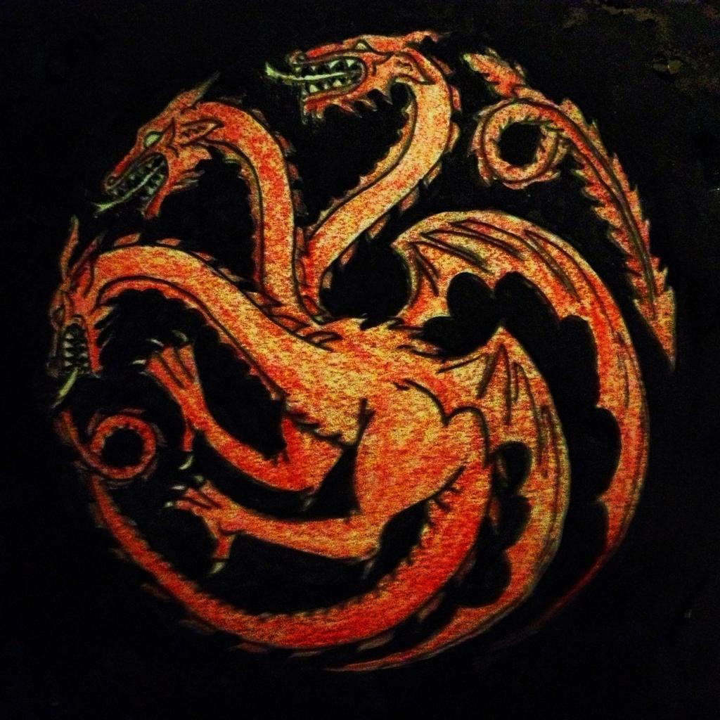 Sigil Of Lucifer Hd Wallpaper: 1024x1024px Targaryen Sigil Wallpaper