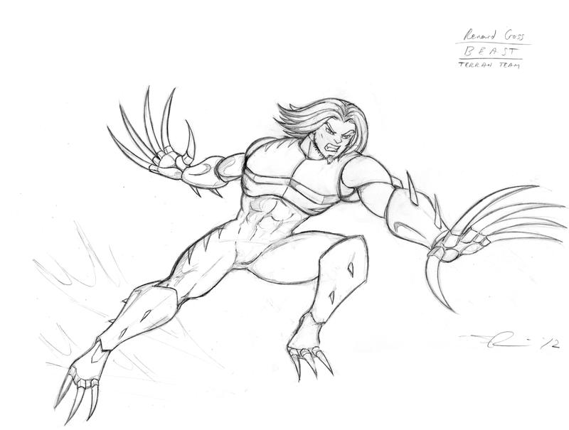 Feral Slash Renard by Dualmask