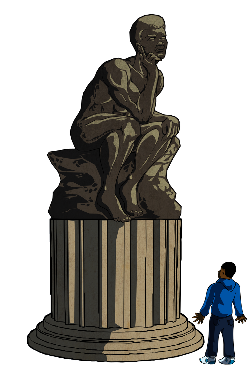 -Statue- by Dualmask