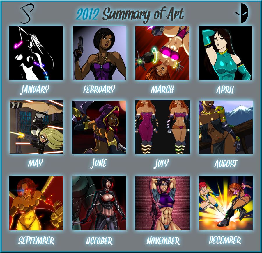 2012 Summary of Art by Dualmask
