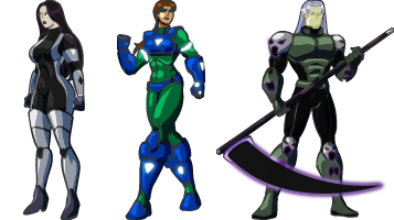 WCL Character Sprites by Dualmask