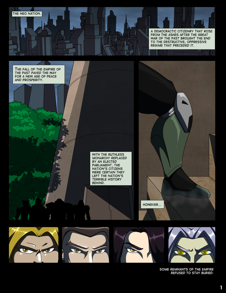WEAPON Combat League Chapter 1 Page 1 by Dualmask