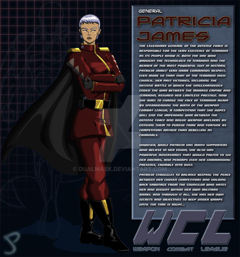 General Patricia James Bio by Dualmask