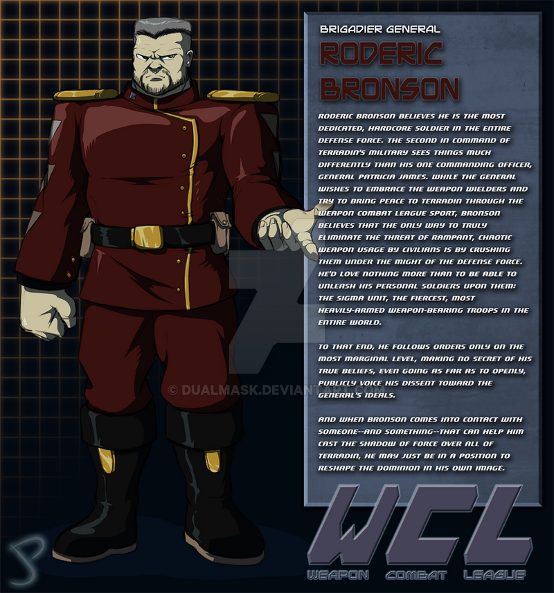 Roderic Bronson Bio by Dualmask