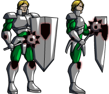 Knight Sprite by Dualmask