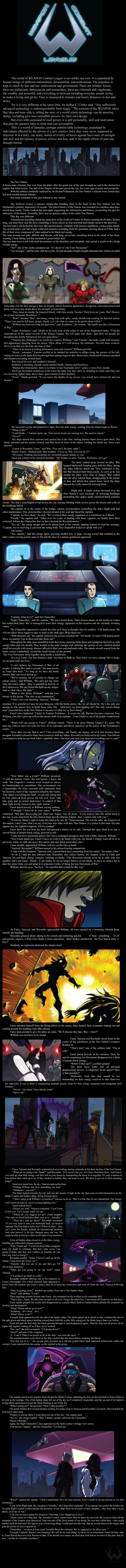 WCL: Discord in Darkness Illustrated by Dualmask