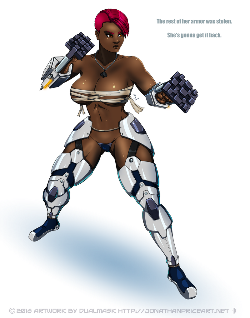 7: (Un)Armored Striker by Dualmask