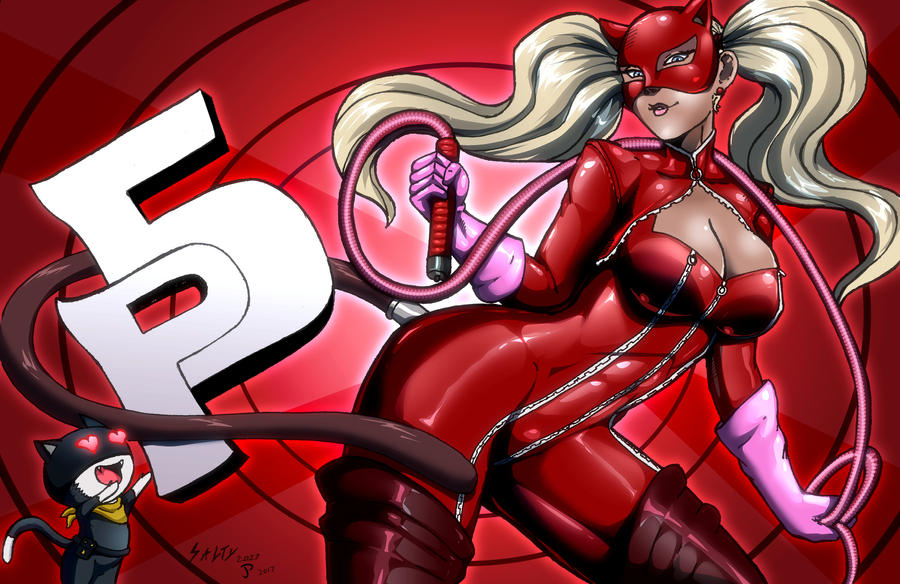-Ann Takamaki- colors by JP by Dualmask